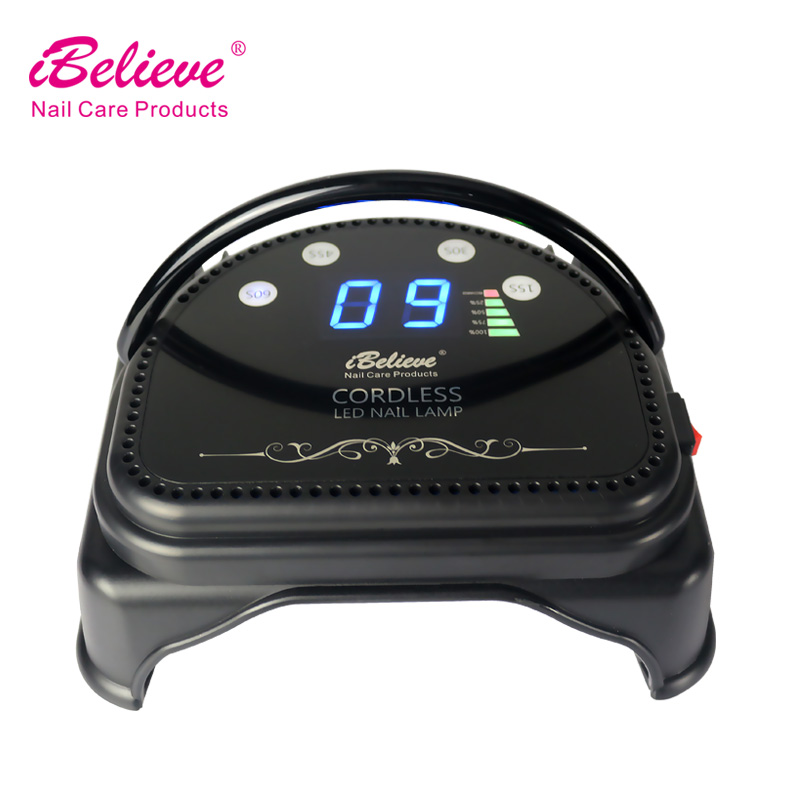 <strong>U</strong>.S. market best seller <strong>battery</strong> operated uv nail lamp ibelieve tp46e