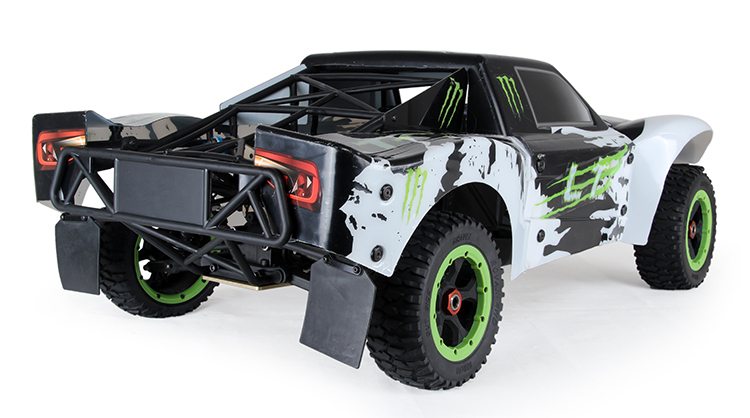 1 5 Scale 4wd Rc Car With Petrol Engine Lt275 Gas Truck