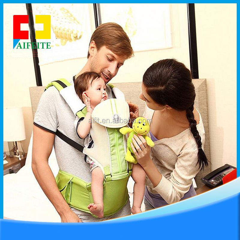 2016 new products breathable cotton ergonomic baby carrier