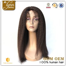 Pure handmade Malaysian 100 human hair wigs with comb