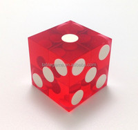 High quality transparent Acrylic sex dice for board game
