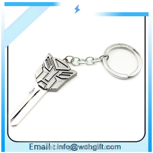 custom design leather and metal keychain
