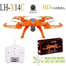 Large Scale RC Drone LH-X14C 2.4G 4CH 6-Axis Gyro RC Quadcopter Drone Aircraft with HD Camera Remote Control Aircraft