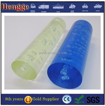 PMMA colored rod/Plastic Plexiglass Round Rod/clear acrylic bubble
