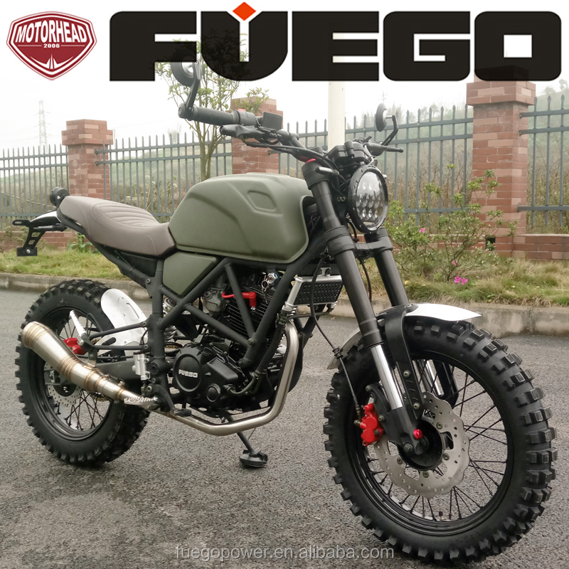 Triumph Scrambler 250CC Enduro Sports Cafe Racer Bike Motorcycle