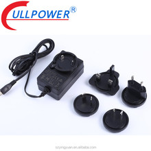 EN 61558 60950 60335 AC DC 5v 9v 12v 1a 2a Interchangeable Plug Power Adapters With Multi Plugs,Universal Adapter power Supply