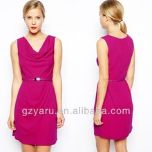 High quality fashion custom made women's clothing manufacturer