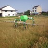 New design remote control large volume four wheels agricultural drone sprayer