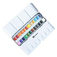 popular artist quality colorful nontoxic watercolor cakes ,watercolor painting set&velvet painting set