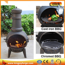 2015 hot selling wood burning outdoor chimenea