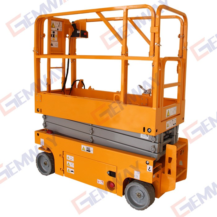 Mini Hydraulic Scissor Lift : M hydraulic mini one man lift elevator buy