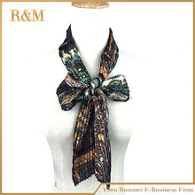 Factory Price Ornamental floral chiffon sarong scarf dress wrap
