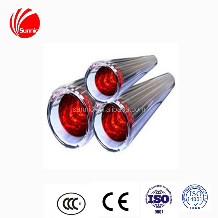CCC CE and ISO9001 low price energy saving products flexible solar water heater tubes