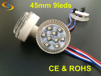 Programmable 12 Volt 45mm 9 smd 5050 Rgb Leds Pixel Light For Amusement Rides