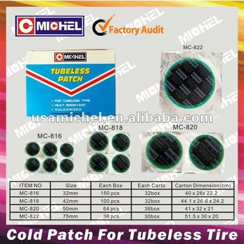 Tubeless Cold Patch
