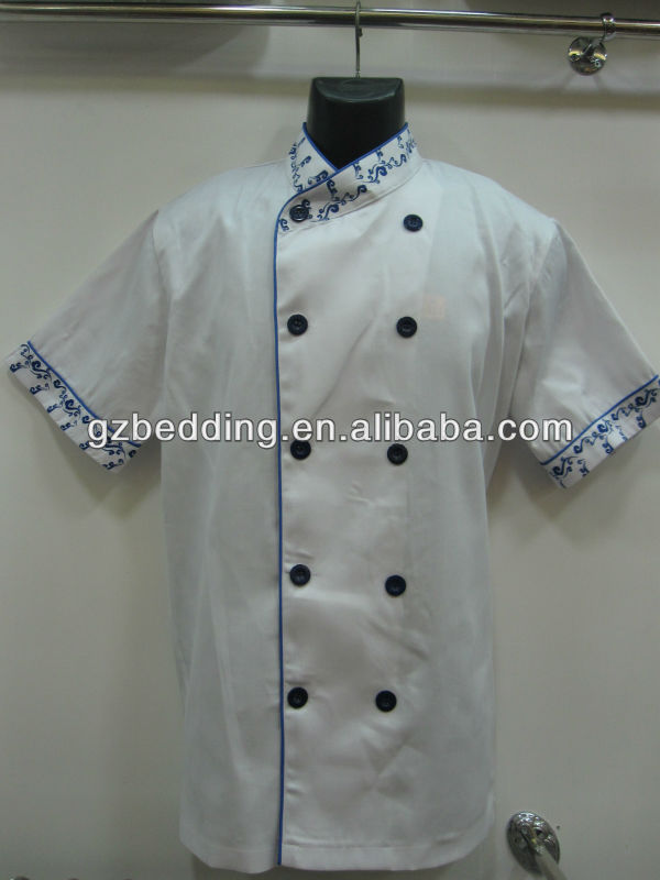 bar and restaurant chef colors staff customize restaurant uniform