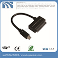 USB3.1 Type-C to SATA 15+7 pin converter cable for 2.5'' 3.5'' HDD