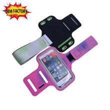 fashion oem neoprene mobile phone case sport phone pouch
