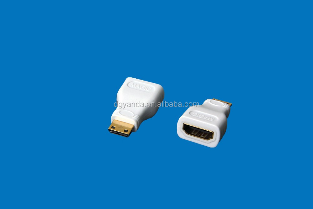 High quality HDMI A type female to mini hdmi C type male Adapter