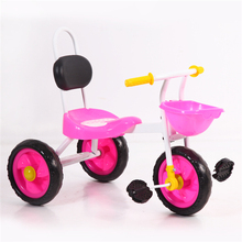 China alibaba.com Hot sale small baby tricycle kids 3 wheels bike simple children trike Popular design kindergarten small trike