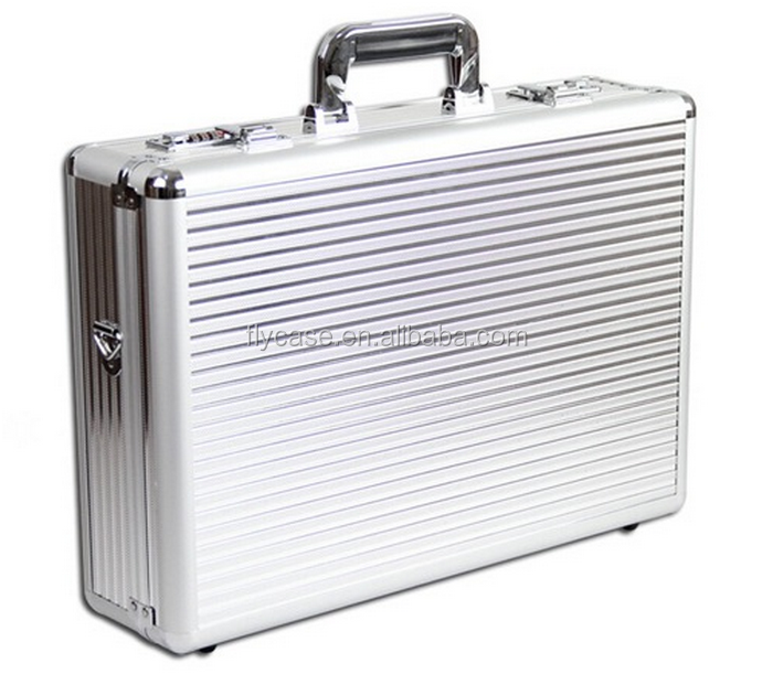 professional aluminum tool case in aluminum case for hard,jewelry trolley case,gun metal aluminum case