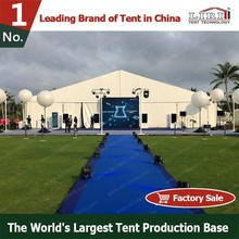 50x50m Huge Exhibition Marquee Tent With PVC Sidewalls And Decoration