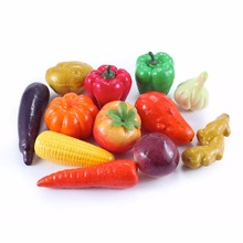 free sample lifelike cheap realistic decorative fake vegetables
