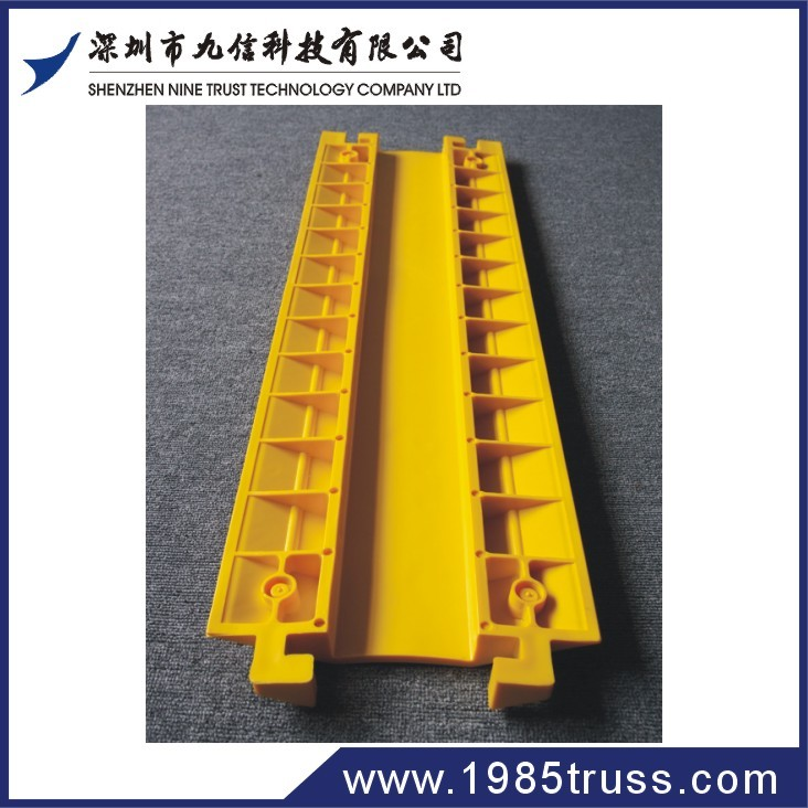 Rubber Cable Ramp flexible protector ramp 2/3/5 channel cable cover