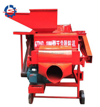 Large Scale Corn Thresher Maize Threshing Machinery 008613703827012