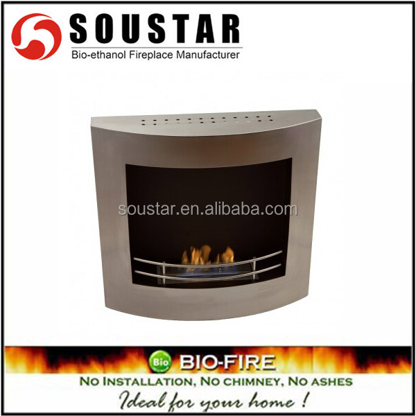 China indoor insert heating fireplace bio ethanol burner