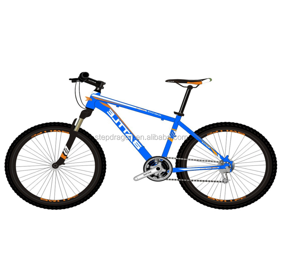 Reatil BMA 540-D Blue Good quality 26er Mountain Bike Made in China Alloy mtb bicycle