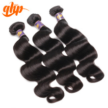 Good quality no tangle no shed hair weave 100% human hair