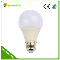 2016 Hot sale 3W 5W 7W 9W 12W CE ROHs certification 2 years warranty E27 ce rohs approval energy light bulb light shenzhen china
