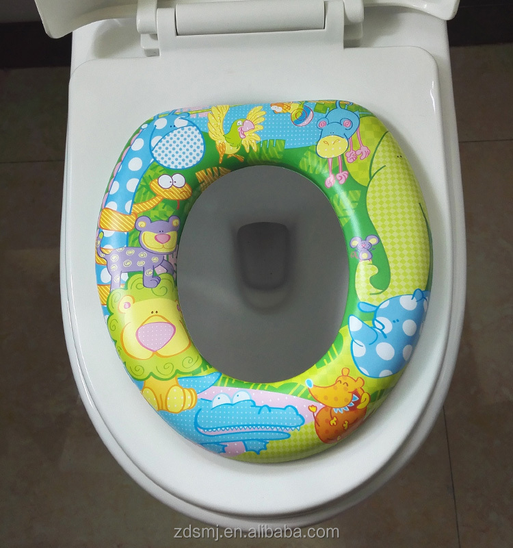 2016 factory hot sell eco-friendly Material baby potty seat