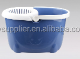 unbreakable plastic bucket plastic mop bucket with wheels and handle