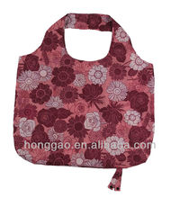 Xiamen manufacturer foldable reusable shopping bag