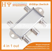 low price 4x1 DiSEqC Switch 4 in 1 DiSEqC Switch Satellite Switch