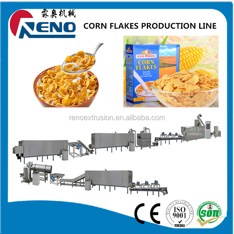 Direct Factory Price top quality raw corn flake making machine