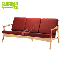 5077 latest design sofa wooden frame