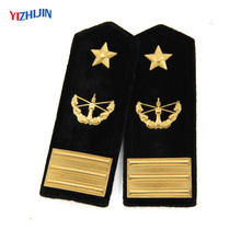 Newest product military army uniform embroidered epaulette for sale