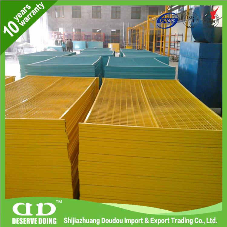 China Manufacturer temporary fencing panels for sale From DouDou Metal Fence