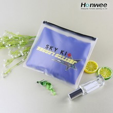 Reusable ziplock waterproof bikini bag plastic swimwear bag pvc swimwear packaging