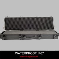 China Manufacture Plastic Tool Case / AR15 Plastic Rifle Gun Case/Military Strong Case With Foam Insert 1362*406*172mm