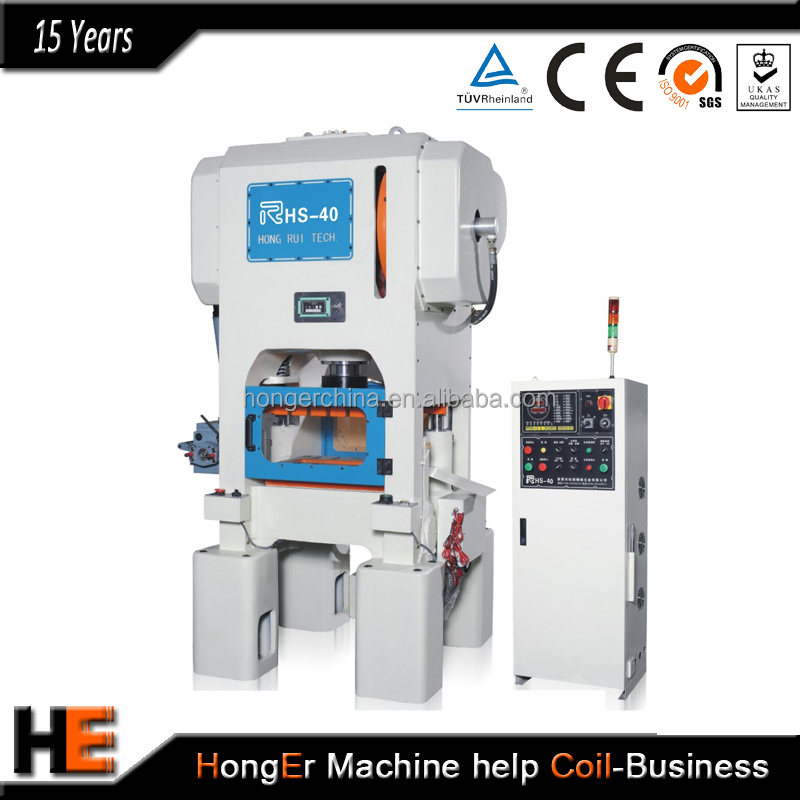 High precision punch press machine for punching metal dome