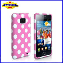 Polka Dot TPU Silicone Soft Back Cover Case Skin For Samsung Galaxy S2 i9100