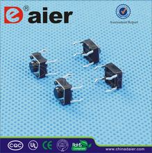 Daier ground terminal tact switch
