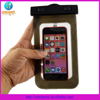 New arrival clip waterproof case for iphone waterproof bag for Samsung s4