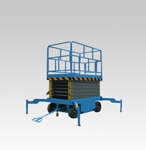 Hot sale ! Self propelled scissor lift one man lift/hydraulic elevator lift / home cleaning elevator