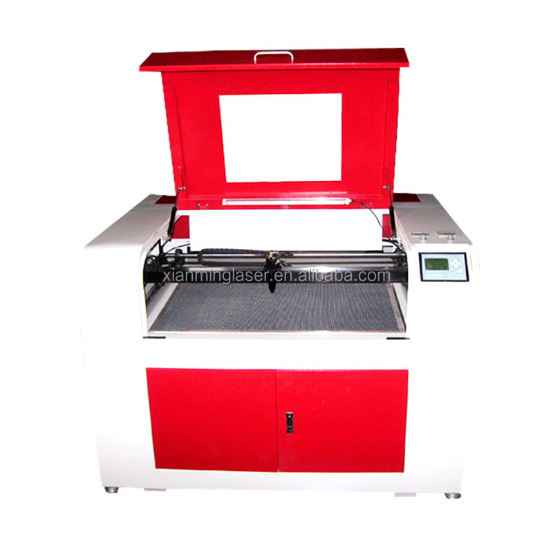 sealed co2 glass tube laser engraving machine and cutting machine 60w 80w 100w XM-6090