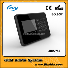 Wire interconnected alarm security home system